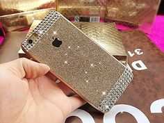 iPhone 6 Plus Funda Style, Extreme Deluxe Bling Teléfono Cascara Diamante Handmade Diamond Crystal Clear Rhinestone cubierta protectora de la piel Case Cover para Apple iPhone 6 Plus 5,5 pulgadas de pantalla - Oro (Gold) - http://www.tiendasmoviles.net/2015/10/iphone-6-plus-funda-style-extreme-deluxe-bling-telefono-cascara-diamante-handmade-diamond-crystal-clear-rhinestone-cubierta-protectora-de-la-piel-case-cover-para-apple-iphone-6-plus-55-pulgadas-de-p/