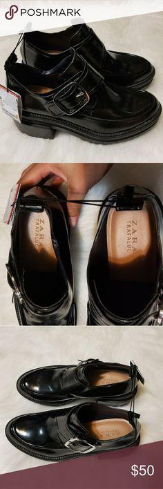 Selling this Zara chunky heel shoes on Poshmark! My username is: thriftmode. #shopmycloset #poshmark #fashion #shopping #style #forsale #Zara #Shoes
