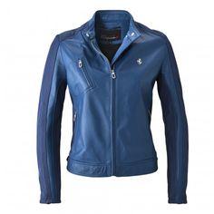 Ladies Ferrari California T Leather Jacket - California T - Clothing