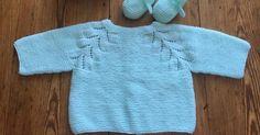 Ideas que mejoran tu vida Baby Cardigan, Baby Sweaters, Baby Knitting, Cami, Knit Crochet, Diy And Crafts, Wool, Labor, Pattern