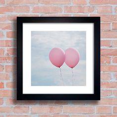 Quadro Balões - Encadreé Posters
