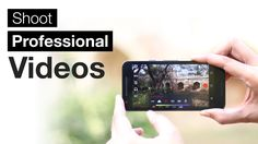 This video show you how to make a professional video with smartphone without any DSLR camera.