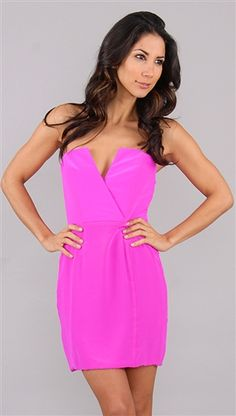 Naven Bombshell Dress I defiantly would pull this off with a bold lip or eyes , this chick is to boring