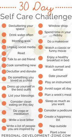 Self-Care Challenge Ideas Self-care can really change your life for good! And you won't need more than 10 minutes a day… Discover this list of 30 self-care challenge ideas… Personal Development Self Development, Personal Development, Happiness Challenge, Self Care Activities, Self Improvement Tips, Self Care Routine, Best Self, Take Care Of Yourself, How To Better Yourself