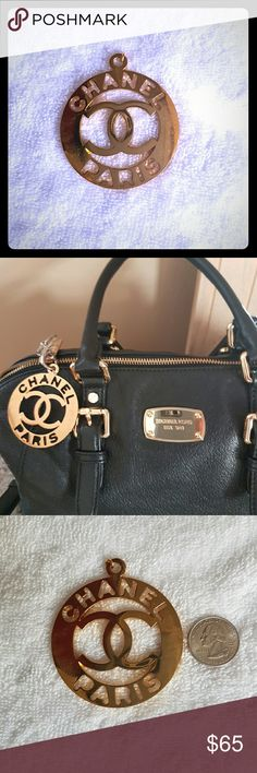 CHANEL  accessory Nicely crafted Chanel accessory that will beautify any handbag! It is a must have statement piece. I owned two, so I am listing one. :-) CHANEL Accessories