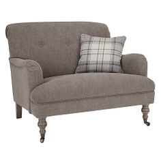 Howard Snuggler armchair from John Lewis This cosy sofa-style armchair, with a washed linen finsh, is a great way to bring some rural luxury into your living room. Howard Snuggler armchair x x John Lewis Small Living Rooms, New Living Room, John Lewis Sofas, Howard Sofa, Cosy Sofa, Sofa Uk, Small Lounge, Room Of One's Own, Sofa Styling