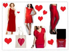Awesome red options for Valentine's Day or any day....
