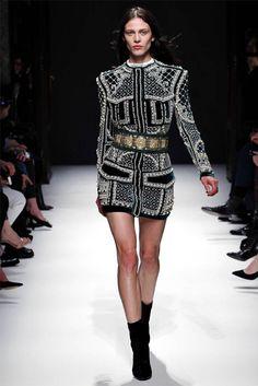 Balmain Fall 2012 | Paris Fashion Week