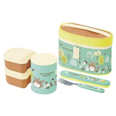 Skater My Neighbor Totoro Thermal Lunch Box Set Thermal Lunch Box, Lunch Box Set, Phone Shop, Branded Belts, My Neighbor Totoro, Beauty Packaging, Lip Care, Tableware, Life