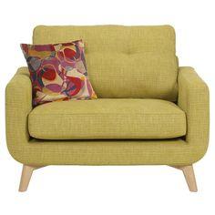 John Lewis Barbican Snuggler, Cossette Green / Light Leg