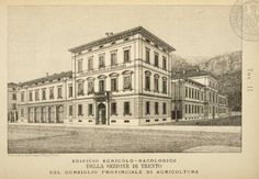 Edificio agricolo-bacologico della Sezione di Trento del Consiglio provinciale…