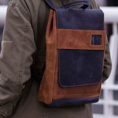 Valentines gift Men backpack Leather backpack Brown backpack – Men's style, accessories, mens fashion trends 2020 Unique Backpacks, Brown Backpacks, Leather Backpacks, Hipster Backpack, Men's Backpack, Leather Backpack For Men, Leather Bag, Backpack Organization, Mens Valentines Gifts