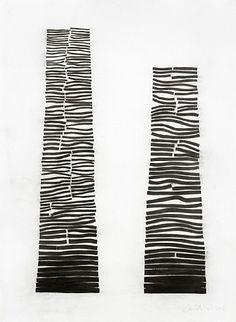 David Nash, Crack and Warp Columns