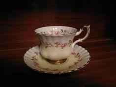 Royal Albert  Bone China Tea Cup & Saucer by NinasVintageAttic, $15.00