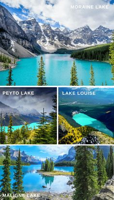 The best places to visit Alberta, Canada! Find out some fun things to do in Banff National Park, Jasper National Park and the Columbia Icefields!