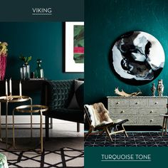 Bold and luxurious, make a statement with Haymes Viking and Turquoise Tone. Dramatic, yet polished with a touch of metallic Prop credits Nathan + Jac​ and Fenton & Fenton​.