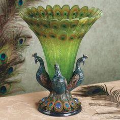 Beautiful Peacock Lamp