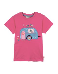 Frugi Alice Caravan Girls T-Shirt http://www.raspberryred.co.uk/clothes-by-brand/frugi/frugi-anna-daisy-skirt
