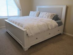 do it yourself divas: DIY: King Size Storage Bed Part 1