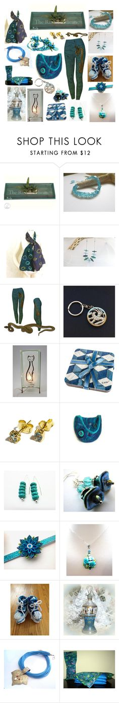 """Teal You Say You Love Me"" by belladonnasjoy ❤ liked on Polyvore featuring Cadeau, modern, rustic and vintage"