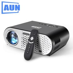 165.63$  Watch now - http://alinvm.worldwells.pw/go.php?t=32792659104 - AUN LED Projector T90 (Optional Android Projector T90S, Built-in WIFI, Bluetooth, Support Airplay, Miracast with 2.4G Air Mouse) 165.63$