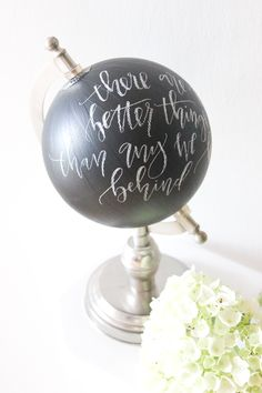 mini globe revamp and 5 party ideas