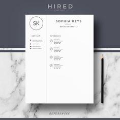 19 best minimalist resume cv templates images modern resume