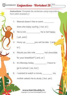 Printable English Worksheets, Worksheets For Class 1, Punctuation Worksheets, English Grammar Worksheets, Grammar And Punctuation, Practice English Grammar, Grammar Lessons, Opposites Worksheet, Easy Grammar
