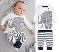Toddler Baby Boys Cartoon Clothes Long Sleeve Tops T-Shirt Pants Outfits Sets in Clothing, Shoes & Accessories, Baby & Toddler Clothing, Boys' Clothing (Newborn-5T) | eBay