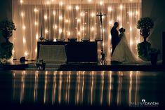 decoração de casamento com luzinhas 2017