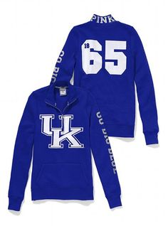 Victoria's Secret PINK® University of Kentucky Half-Zip Pullover #VictoriasSecret http://www.victoriassecret.com/pink/university-of-kentucky/university-of-kentucky-half-zip-pullover-victorias-secret-pink?ProductID=71240=OLS?cm_mmc=pinterest-_-product-_-x-_-x