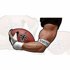 NFL ARMagnets Left Arm Vehicle Magnet - Saints