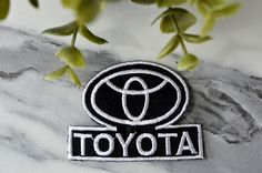 TOYOTA Iron on Patch