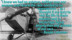 How Bessie Coleman Became the African American Woman to Fly a Plane: Bessie Coleman Bessie Coleman, Female Pilot, Aviators Women, Historical Women, African American Women, African Americans, Photo B, Roaring Twenties, Black People