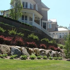 Residential Steep Slope Landscaping Design, Pictures, Remodel, Decor and Ideas