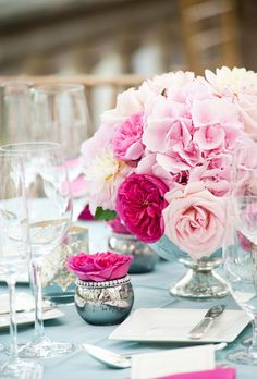 Brides.com: . Axe the Glass. Ask your florist to use plastic containers instead of glass. They come in a variety of shapes, sizes, and colors — even metallic — and guests won't know the difference. — Jacqueline Elfe, Stellar Style Events Floral & Event Design, New York