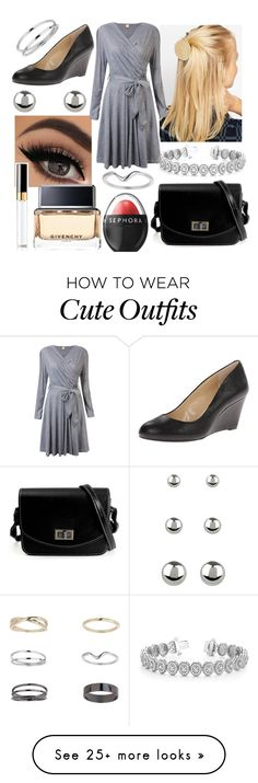 """""""Cute Outfit #402"""" by misspolyvoric on Polyvore featuring ASOS, Miss Selfridge, Jessica Simpson, Accessorize, Allurez, Sephora Collection, Givenchy and Chanel"""