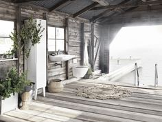 Scandinavian interior design vibe for outdoor