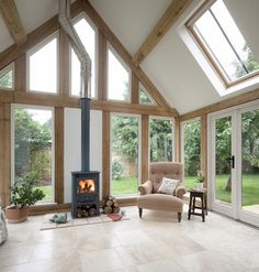 Cambridgeshire Pearmain - Border Oak - oak framed houses, oak framed garages and structures.