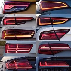 The new Audis posterior leds! _________________________ •Photographer…