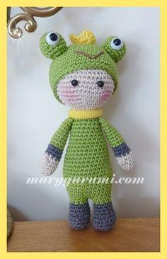 Mini lalylala grenouille