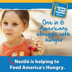 Nestle Supports Wal-Mart's Fighting Hunger Together Initiative (Giveaway - 2 Winners)