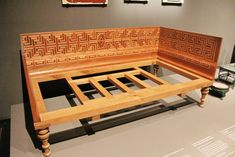 Roman bed - Pompeii Exhibit @Natural History Museum, Singapore     Roman bed | by Amsk