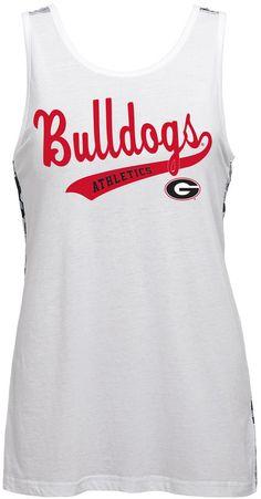 150c53b04 NCAA Juniors  Georgia Bulldogs Nova Tank Top  sec
