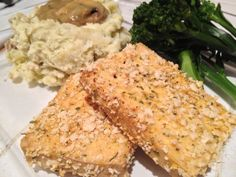 Chicken Fried (but really baked) Tofu... Native Foods Blog