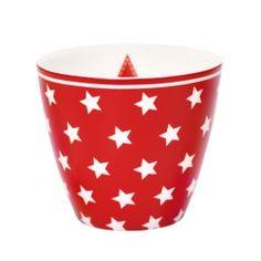 Tasse à lait Star Red