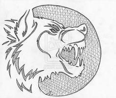 2013 wolfy pumpkin stencil by sioSIN