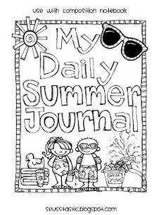 Daily Summer Journal Freebie