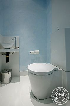 Separate WC with washbasin at St Germain Luxe, apartment for rent in Paris, Saint Germain