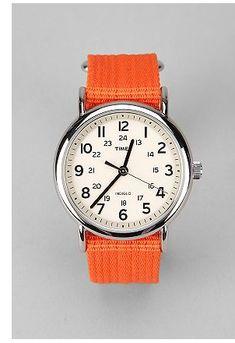 Timex Weekender Slip-Thru Band Watch